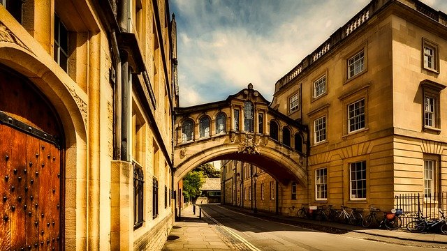 building in oxford, england